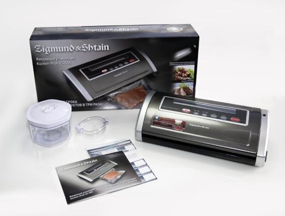 вакуумный упаковщик zigmund shtain kuchen profi